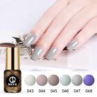 MEFA 8ml 6Pcs/Set Gel Nail Polish UV LED Soak-off Base Top C