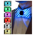 Men Halloween costumes  LED Light Up Bow Tie 6 Color Selecti