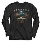 Journey Departures Tour 1980 Mens Long Sleeve T Shirt Rock Band Concert Tour Top image
