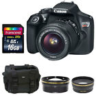 Canon EOS Rebel T6 DSLR Camera w/ EF-S 18-55mm f/3.5-5.6 IS II Lens-Value Kits <br/> Great Camera Kits! Super Deals &amp; Price! Fast Shipping!