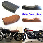 Motorcycle Cafe Racer Seat Flat & Hump Saddle For Honda CB Yamaha XJ Suzuki GS $44.22 USD on eBay