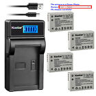 Kastar Battery LCD USB Charger for Canon NB-10L CB-2LC & Canon PowerShot G15