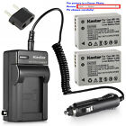 Kastar Battery AC Charger for Canon OEM NB-10L NB-10LH & Canon Genuine CB-2LC