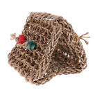 Handmade Rattan Snuggle Hanging Cave Parrot Swing Toy Cage Hammock Pet Bird Bed