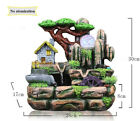 Water Fountain Indoor Air Humidifier Artificial Aromatherapy Landscape Home New