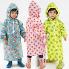 Waterproof Raincoats For Kids Boy and Girls Toddler Long 2t to 4t Size with Hood
