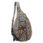 Kavu Rope Bag Sling Backpack Everyday Women's Travel Hiking Daypack Cotton Purse
