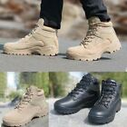 Men's Outdoor Tactical Combat Shoes Military Hiking Desert Ankle Boots Comfort