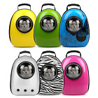 Pet carrier space capsule backpack portable dog cat breathable travel bag