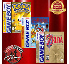 Nintendo Gameboy Quality Custom Replacement Artwork & Case (No Game Included)
