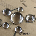 High Domed Spherical Ronud Glass Cabochon 8 10 12 14 16 18 20 25mm