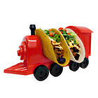 Taco Train Taco Holder - Coolest Kids Party Dinner Plate, Holds 2 Tacos