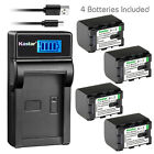 Kastar Battery LCD Charger for JVC BN-VG121U JVC Everio GZ-EX270 Everio GZ-EX310