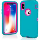 For Apple iPhone X  XS  XR Max 10 Case Protective Defender Shockproof Cover