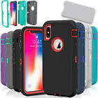 Внешний вид - For Apple iPhone X / XS / XR Max 10 Case Protective Defender Shockproof Cover