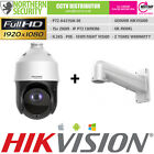 Hiwatch PTZ 2MP 15x Optical Zoom HD-TVI/AHD/CVI Speed Dome Security Camera CCTV