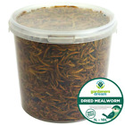 GardenersDream Dried Mealworms - Nutritious Wild Garden Bird Food Treats Birds