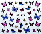 Kyпить Pretty Colorful Butterfly Star Petals Water-Transfer Nail Art Sticker XF1212 на еВаy.соm