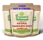 Kyпить Dandelion Root Capsules 5000mg Strong Extract Organic Detox Liver GallBladder  на еВаy.соm