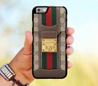 Design New Brown Gucci2738 for iPhone 6 6s 6plus 6s plus 7 7+ 8 8+ X Case Cover