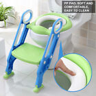 Kids Potty Training Seat with Step Stool Ladder Toilet Chair for Child Toddler image