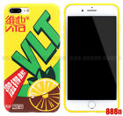 Special Vita Lemon Tea Drink Phone Case For iPhone XS Max XR X 8 7 Plus 6S 6