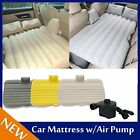 Car Air Bed Inflatable Mattress Back Seat Cushion Two Pillows For Camping MG