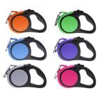 Pet Dog Automatic Retractable Walking Lead Leash Rope Traction Puppy Cat New 5M