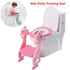 Kids Potty Training Seat Step Stool Ladder Child Toddler Toilet Chair Non-Slip image