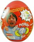 NEW! Ryan's World Giant Mystery Egg Surprise Slime Toy Review  Red Or Yellow