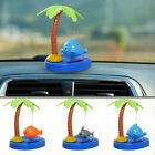 Solar Powered Dance Tropica Fishs Swinging Animated Bobble Dancer Toy Car Decor