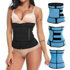 Women's Waist Trimmer Belt Slim Body Sweat Wrap for Stomach Back Lumbar Support image