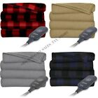 "Electric Throw Blanket Heated Fleece Warming Blankets ASSORTED Colors, 60"" x 50"" image"