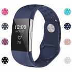 For Fitbit Charge 2 Wristband Replacement Buckle Silicone Strap Watch Bands S  L image