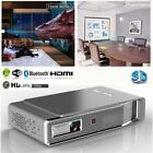 New 8500Lumens 4K Android DLP WIFI Smart Home Theater Full HD 1080p 3D Projector