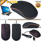 1200PDI USB 3D Wired Optical Mouse For PC Laptop Computers Windows Office Hot
