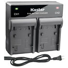 Kastar Battery AC Rapid Charger for JVC BN-VF714 & GR-D290 GR-D290AA GR-D290AC