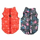 Pet Small Dog Cat Puppy Warm Padded Vest Harness Sweater Jacket Apparel Costume