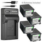 Kastar Battery Slim Charger for Canon BP-820 BP-828 & Canon XA20 Video Camera