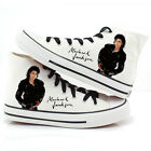 Michael Jackson High-top canvas shoes  Punk Rock Lovers Casual New FF.2076