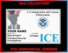 ICE, Immigration and Custom Enforcement...USA ID COLLECTOR CARD