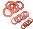 """Imperial Red Fibre washers. 1/4"""" - 1"""" Internal plumbing. Tap. *Top Quality!"""