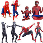 Iron Spiderman Fancy Dress Costume Avengers Superhero Halloween Kid Child Outfit