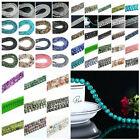 4/6/8/10MM Wholesale Imitation Natural Stone Glass Loose beads DIY Bracelet Hot