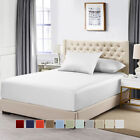 Split Top King Fitted Solid Sheet 100% Cotton 600 Thread Count Sateen Sheet image