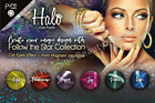 Halo UV LED Gel Polish Follow The Stars Collection 8ml. All colours available