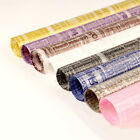 Внешний вид - 20 Sheets of Clear Wrapping Papers w/ Words for Flower Bouquets Various Colors
