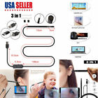 3 in 1 USB Ear Cleaning Endoscope Earpick With Mini Camera HD Earwax Removal Kit