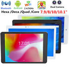 """10"""" Android 7.0 Hexa Core 4G 64GB Tablet PC Dual Cam 2.4/5G WiFi HD Bluetooth"""