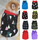 Small Pet Dog Fleece Harness Vest Clothes Puppy Warm Sweater Coat Jacket Apparel